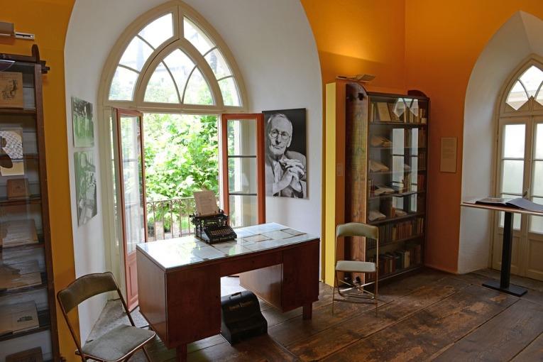 El museo de Hesse en Montagnola, Suiza