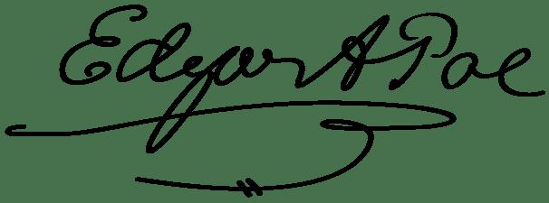 La firma de Poe