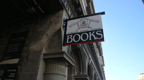 Una librería en el centro de Dunedin
