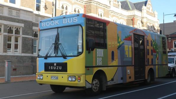 """El Book Bus, una """"librería móvil"""""""