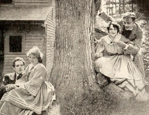Fotograma de la versión en cine de 1918